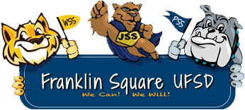 Franklin Square School District Logo on the Footer